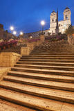 Spanish Steps in Rome Stock Photo