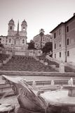 Spanish Steps in Rome Royalty Free Stock Photography
