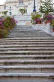 The Spanish Steps in Rome, Italy. The Spanish Steps in Rome. Italy Stock Photos