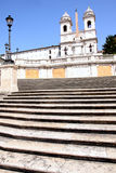 Spanish Steps in Rome Italy Royalty Free Stock Photo