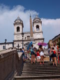 Spanish Steps, Rome, Italy Royalty Free Stock Photography
