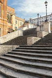 The Spanish Steps in Rome, Italy Stock Images