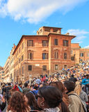 Spanish Steps in Rome Royalty Free Stock Photos