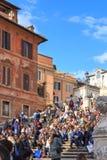 Spanish Steps in Rome Stock Image