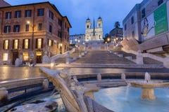 Spanish Steps Rome, Italy. Spanish Steps Rome in Rome piazza de spagna Stock Photos
