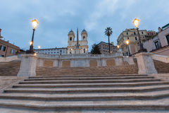 Spanish Steps Rome, Italy. Spanish Steps Rome in Rome piazza de spagna Royalty Free Stock Photos