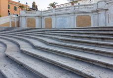 The Spanish Steps in Rome, Italy. The Spanish Steps in Rome. Italy Royalty Free Stock Photo