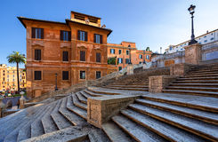 The Spanish Steps in Rome. Italy. View of The Spanish Steps in Rome. Italy Stock Image