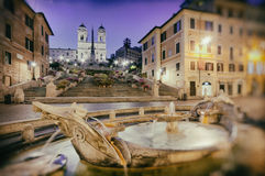 Spanish Steps, Rome - Italy Stock Image