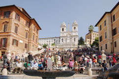 Spanish Steps Stock Images