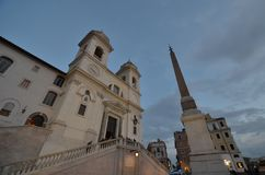 Spanish Steps, sky, building, landmark, town. Spanish Steps is sky, town and town square. That marvel has building, monument and history and that beauty contains stock photos