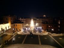 Spanish Steps Spectacular View from Top stock photo