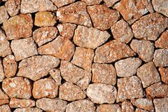 Spanish Stone. Spanisch stonewall Ibiza Stock Photography