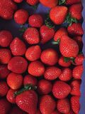 Spanish Strawberries Royalty Free Stock Photography