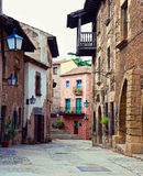 Spanish street Royalty Free Stock Images