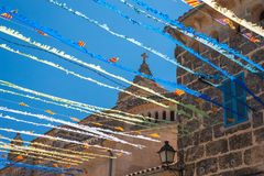 Spanish Street Bunting (4) Stock Images