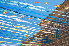 Spanish Street Bunting (5) Royalty Free Stock Image