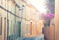 Spanish street Stock Photo