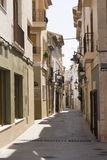 Spanish Street Scene Stock Photography