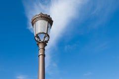 Spanish streetlamp Royalty Free Stock Images