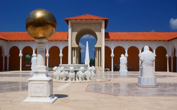 Spanish style architecture. Of  Rally art museum in Caesarea Stock Image