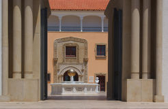 Spanish style architecture. Of  Rally art museum in Caesarea Royalty Free Stock Photo