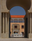 Spanish style architecture. Of  Rally art museum in Caesarea Stock Photo