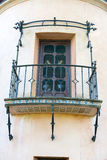 Spanish Style Architecture House Balcony Royalty Free Stock Images
