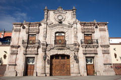 Spanish style building Royalty Free Stock Images