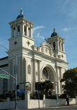 Spanish style church. Spanish style Catholic Church in Hayward, California Royalty Free Stock Photo