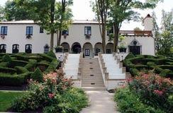 Spanish-style Estate Royalty Free Stock Photography