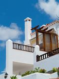 Spanish style home Stock Photo