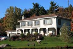 Spanish style house Stock Images