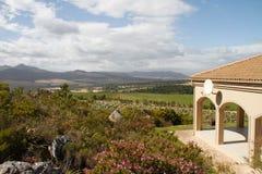 Spanish style luxury summer country villa Stock Photos