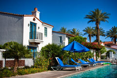 Spanish Style Resort Stock Photos