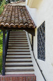 Spanish style staircase Royalty Free Stock Photos