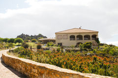 Spanish style summer country villa Stock Photos