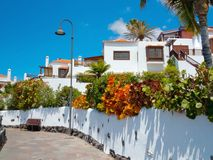 Spanish style villas Royalty Free Stock Image