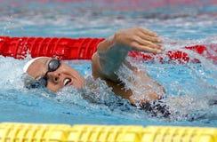 Spanish swimmer Melani Costa Royalty Free Stock Image