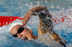 Spanish swimmer Mireia Belmonte Stock Images