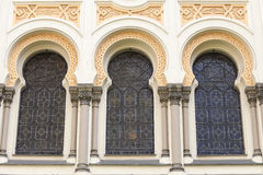 Spanish Synagogue , moorish style, Josefov, Prague, Czech Republic Stock Photo