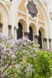 Spanish Synagogue , moorish style, Prague, Czech Republic. Europe Royalty Free Stock Photography
