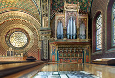 The Spanish Synagogue in Prague Stock Photography