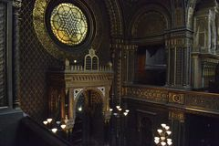 Spanish Synagogue in Prague Royalty Free Stock Photo