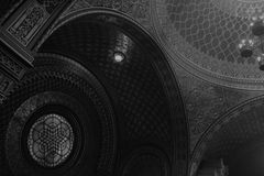Spanish Synagogue in Prague Royalty Free Stock Photography