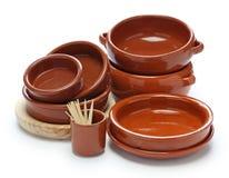 Spanish tableware variety Royalty Free Stock Photo