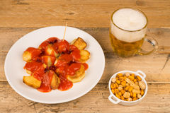 Spanish tapa Royalty Free Stock Photos