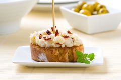 Spanish tapa Stock Images
