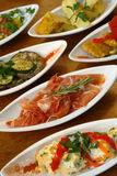 Spanish tapas Royalty Free Stock Photos