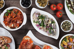 Spanish tapas Royalty Free Stock Photo